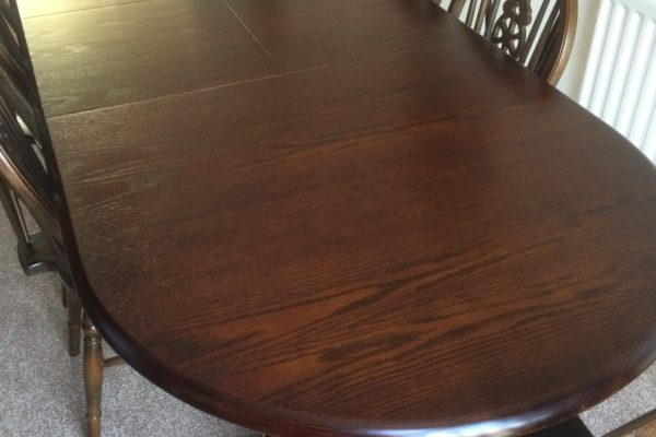 French Polishing Table Hull