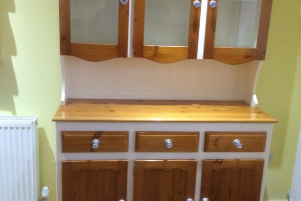 cabinets stained