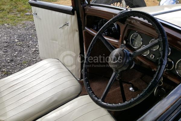car leather repair work