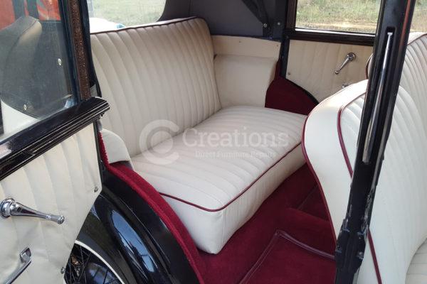 vehicle interior upgrade