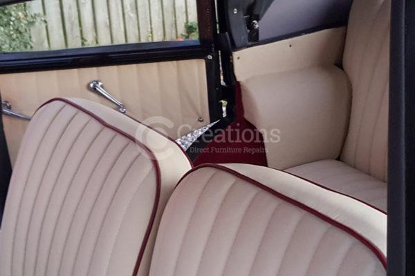 car re-upholstered