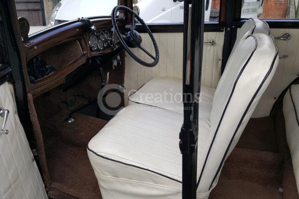car reupholstery