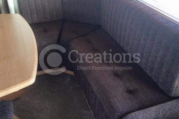 caravan seat reupholstery