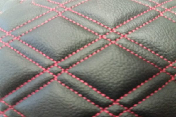 leather stitching options