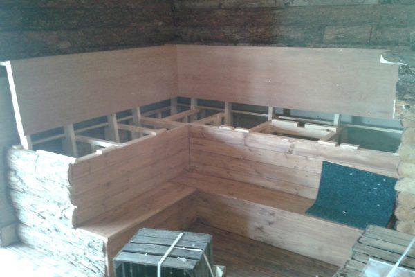 oaklands wedding venue seat construction