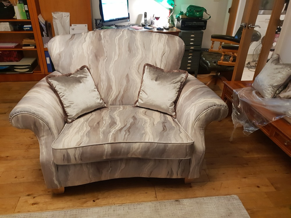 sofa refurb after